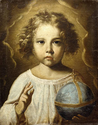 Shrouded Painting - The Infant Jesus by Italian