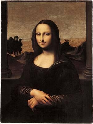Painting - The Isleworth Mona Lisa by Leonardo Da Vinci