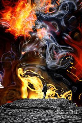 Digital Art - The Journey Begins by John Rizzuto