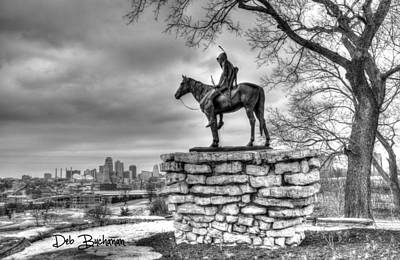 Photograph - The Kansas City Scout by Deb Buchanan