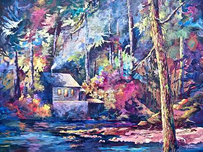 Painting - The Kettle River by Bonny Roberts