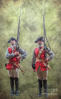 French Man-of-war Digital Art - The Kings Men by Randy Steele