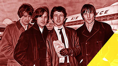 The Kinks Collection Art Print