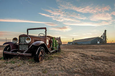Photograph - The Kress Truck by Scott Cordell