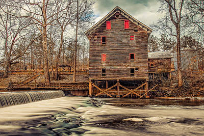 Photograph - The Kymulga Mill by Phillip Burrow