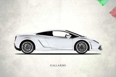 Photograph - The Lamborghini Gallardo by Mark Rogan