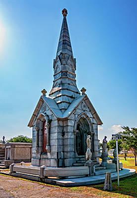 Metairie Cemetery Photograph - The Last Hurrah  by Steve Harrington