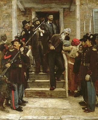 Painting - The Last Moments Of John Brown by Thomas Hovenden