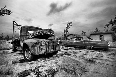 Photograph - The Last Tow by Joe Sparks