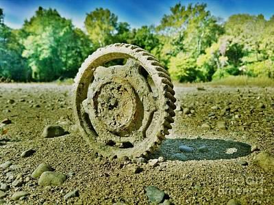 The Last Tractor Print by Scott D Van Osdol