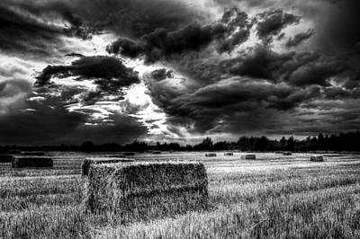Photograph - The Late Summer Farm England by David Pyatt