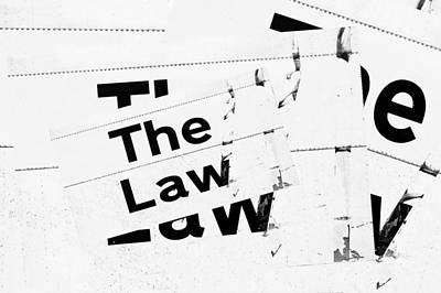 Barristers Photograph - The Law by Tom Gowanlock