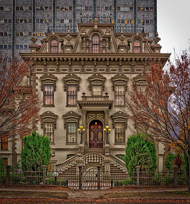 The Leland Stanford Mansion - Sacramento Art Print