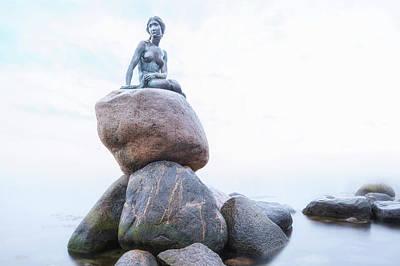 Little Mermaid Photograph - The Little Mermaid - Copenhagen by Joana Kruse