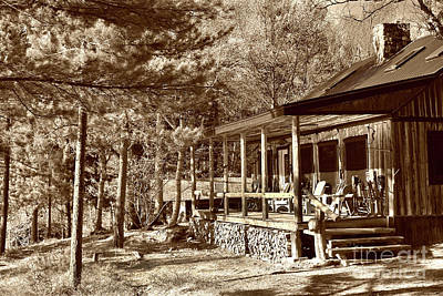 Photograph - The Lodge by Skip Willits