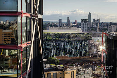 Photograph - The London Skyline by Perry Rodriguez