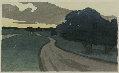 Dow Painting - The Long Road by Arthur Wesley