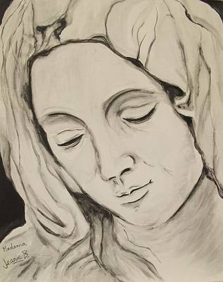 The Madonna Art Print by Jean Billsdon