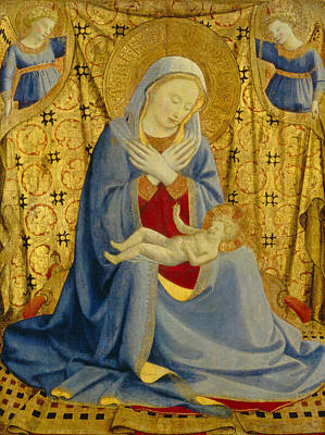 Infant Painting - The Madonna Of Humility by Fra Angelico
