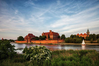 Photograph - The Malbork Castle In Poland by Artur Bogacki