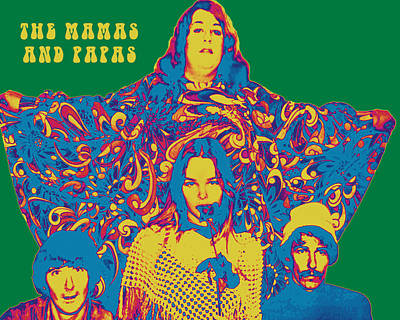 Photograph - The Mamas And Papas by Anthony Murphy