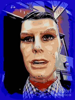 Digital Art - The Man On The Street by Ed Weidman
