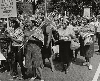 Equal Photograph - The March On Washington by Nat Herz