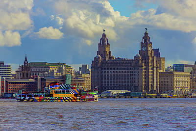 Photograph - The Mersey Ferry by Paul Madden