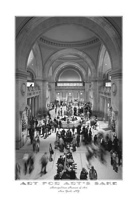 Nyc Digital Art - The Metropolitan Museum Of Art by Mike McGlothlen