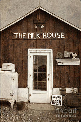 Photograph - The Milk House by John Stephens