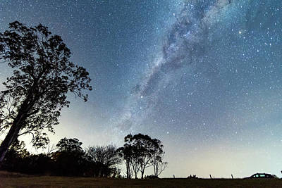 Caravaggio - The Milky Way and Country Landscape by Merrillie Redden