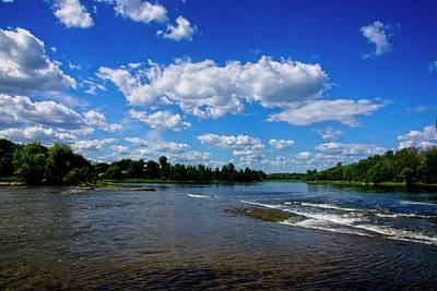 Photograph - The Mississippi River On A Sunny Day by Josef Pittner