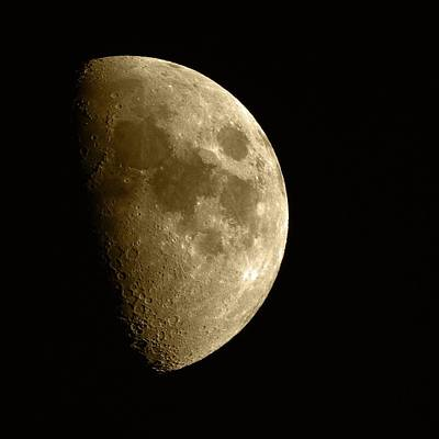 Photograph - The Moon by Chris Day