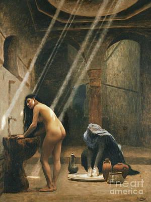 The Moorish Bath Art Print