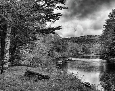 Photograph - The Moose River by David Patterson