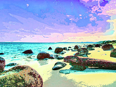 Haleiwa Mixed Media - The Morning After by Dominic Piperata