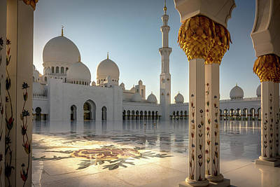 Photograph - The Mosque by Andrew Matwijec