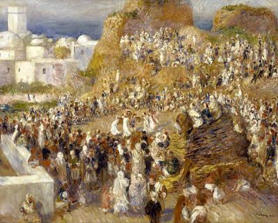 Renoir Painting - The Mosque by Pierre-Auguste Renoir