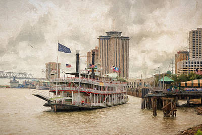 Photograph - The Natchez by Victor Culpepper