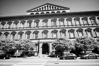 National Building Museum Photograph - The National Building Museum Washington Dc Usa by Joe Fox