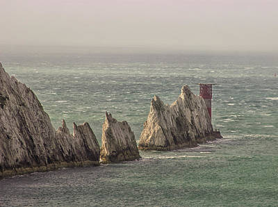 British Isles Wall Art - Photograph - The Needles by Martin Newman