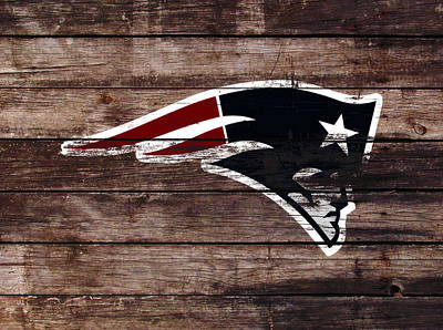 The New England Patriots 3b Print by Brian Reaves
