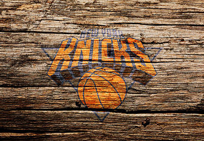 Indiana Pacers Mixed Media - The New York Knicks 1b by Brian Reaves