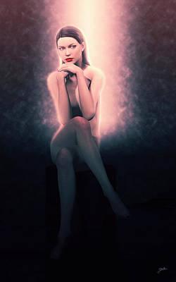 Digital Art - The Nights Of Cabiria by Joaquin Abella