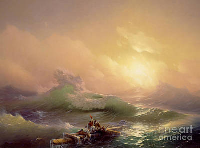 The Ninth Wave Art Print by Ivan Konstantinovich Aivazovsky