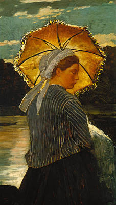 Winslow Homer Painting - The Nurse by Winslow Homer