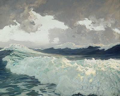 Ocean Painting - The Ocean by Frederick Judd