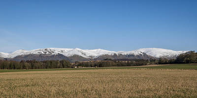 Photograph - The Ochil Hills In Clackmannanshire by Jeremy Lavender Photography