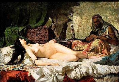 Painting - The Odalisque by Reproduction