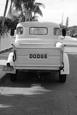 The Old Dodge  Print by Rob Hans
